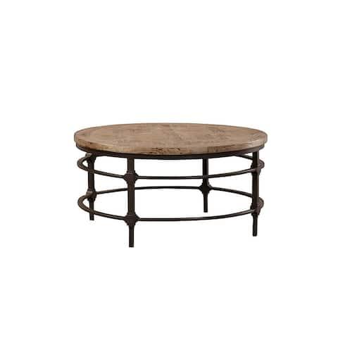 Jethro Round Coffee Table