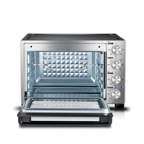 Shop Black Friday Deals On Toshiba Mc32acg Chss Convection Toaster Oven Stainless Steel Overstock 21283153