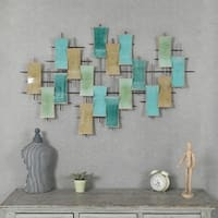 Metal Abstract Wall Decor