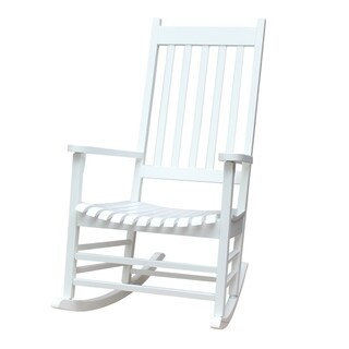The Gray Barn Bluebird Solid Wood Outdoor Rocking Chair