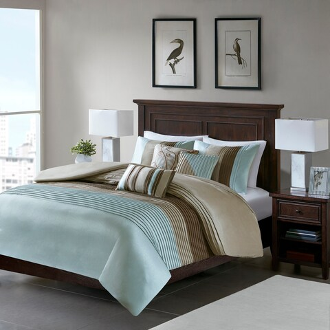 Copper Grove Eveline Blue 6-piece Duvet Cover Set