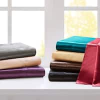 Silver Orchid Wyman Satin 6-piece Sheet Set