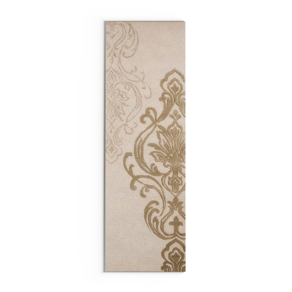 """Silver Orchid Granada Hand-tufted New Zealand Wool Area Rug - 2'6"""" x 8' Runner"""