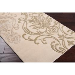Silver Orchid Granada Hand-tufted New Zealand Wool Area Rug - 9' x 13'