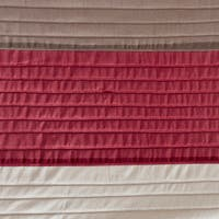 Copper Grove Hersey Colorblocked Shower Curtain