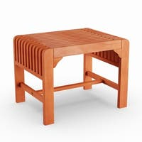 Havenside Home Surfside Bonnybrook Outdoor Backless Wood Bench