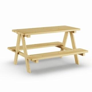 Porch & Den Buckhead Bolling Kids' Wood Picnic Table