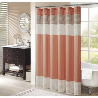 Buy Color Block Shower Curtains Online At Overstock