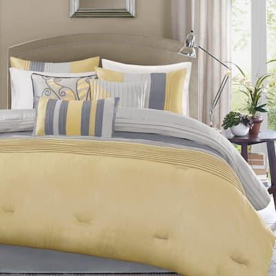 Copper Grove Kiston Yellow 7-piece Comforter Set