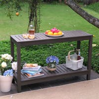 The Gray Barn Bluebird Outdoor Console Table