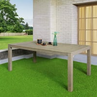 The Gray Barn Bluebird Outdoor Rectangular Dining Table