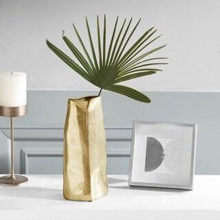 Madison Park Signature Ramsay Grey Ceramic Vase