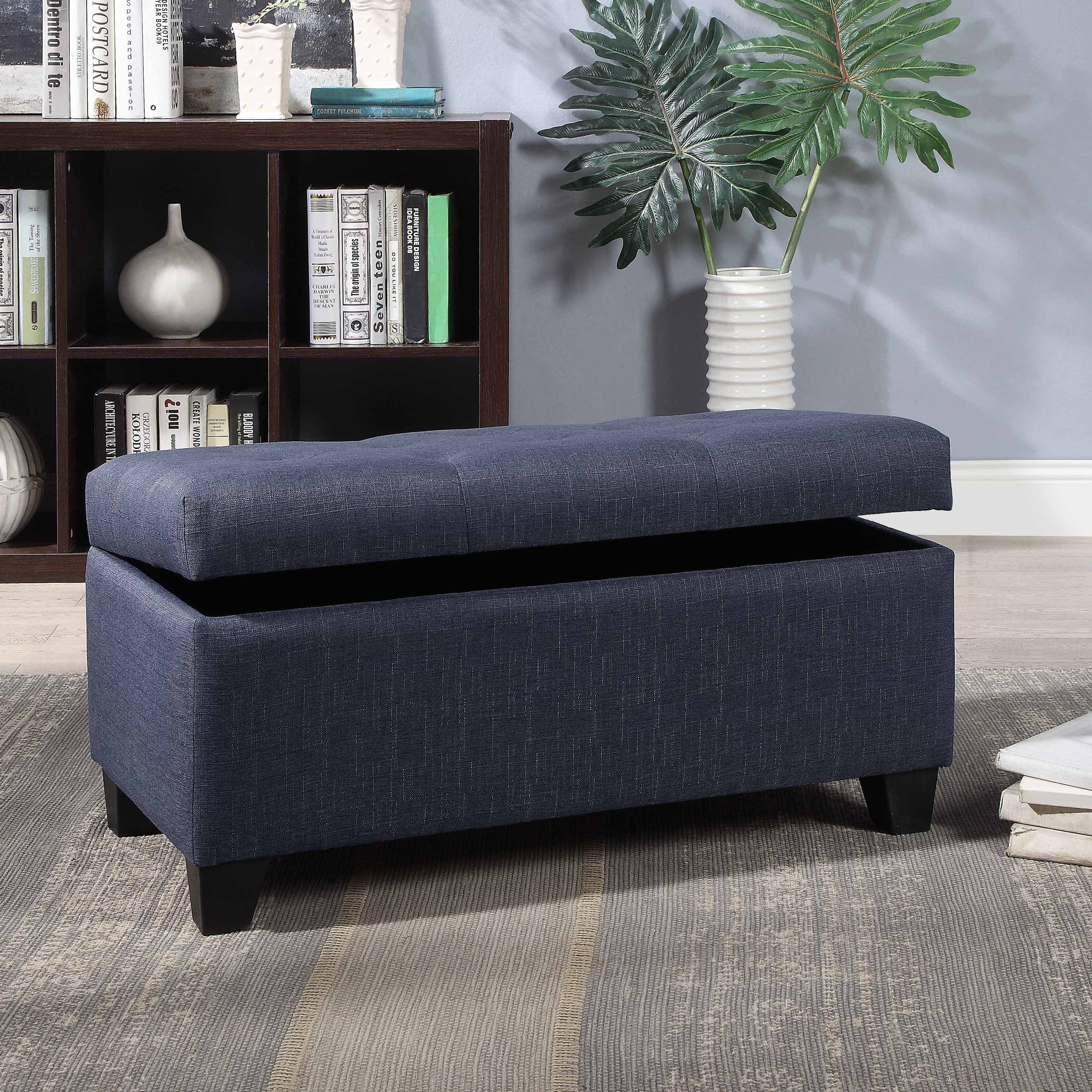 Furniture Of America Carey Contemporary Button Tufted 36 Inch