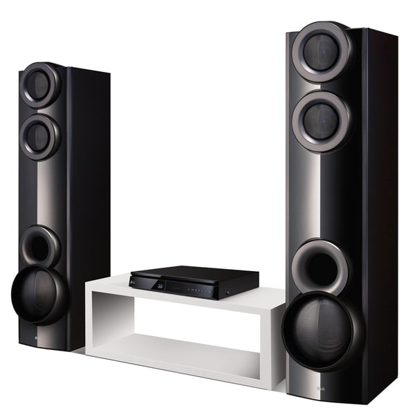 LG LHB675N 3D-Capable 1000W 4 2ch Blu-ray Disc Home Theater System - Black