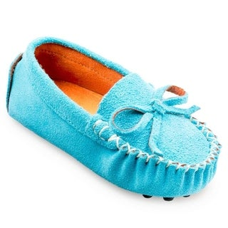 Augusta Baby Childrens Suede Leather Loafer (5 options available)