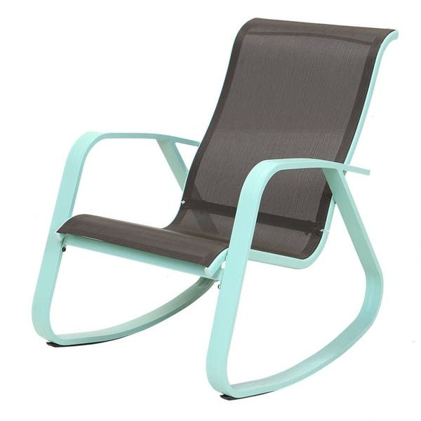 Prime Shop Outdoor Rocking Chair With Wide Gliders Sling Steel Unemploymentrelief Wooden Chair Designs For Living Room Unemploymentrelieforg