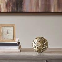 Madison Park Signature Risel Gold Key Box Decor - Small