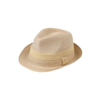 Zodaca Women's Sun Styles Rosie Ladies Modern Trilby Fedora Hat Beach Adjustable Foldable Sun Hats (14 Colors Available) (Option: Beige)