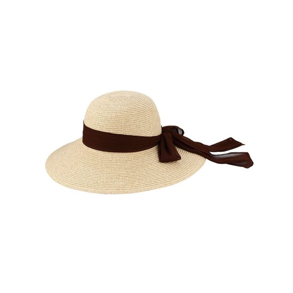 c87d0400a1d Zodaca Women  x27 s Sun Styles Corrine Ladies French Style Foldable Sun Hat  (