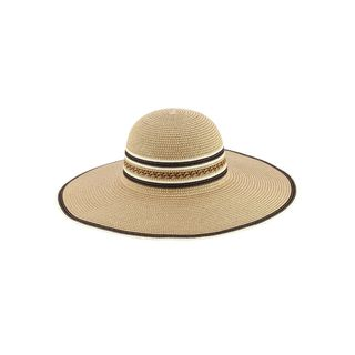 Access Headwear Women's Sun Styles Becca Ladies Foldable Braid Large Brim Beach Floppy Hat Sun Hat (7 Colors Available)