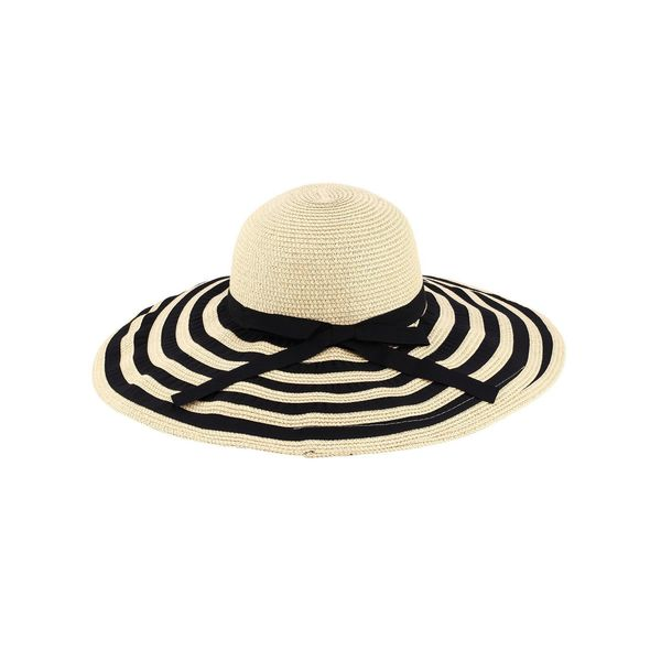 a1de44ac38a Zodaca Women  x27 s Sun Styles Angie Ladies Foldable Large Brim Beach  Floppy Hat
