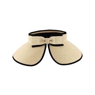 Access Headwear Women's Sun Styles Joan Ladies Foldable Visor Sun Hat (6 Colors Available)
