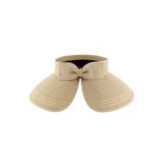 Zodaca Women's Sun Styles Ladies Natalie Visor Foldable Sun Hat (7 Colors Available)