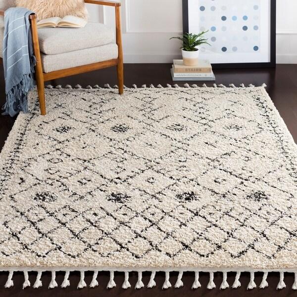 "Ophelia Moroccan Shag Area Rug (9'2"" x 12') - 9'2"" x 12'"