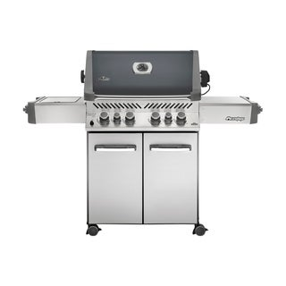 Prestige® 500 with Infrared Side and Rear Burners Natural Gas Grill in Grey
