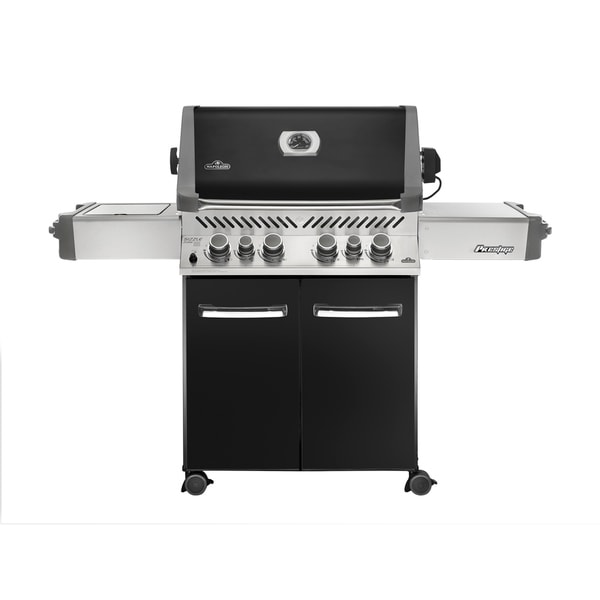 Prestige® 500 with Infrared Side and Rear Burners Natural Gas Grill in Black