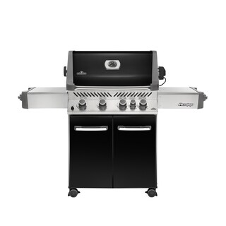 Prestige® 500 with Infrared Rear Burner Natural Gas Grill in Black