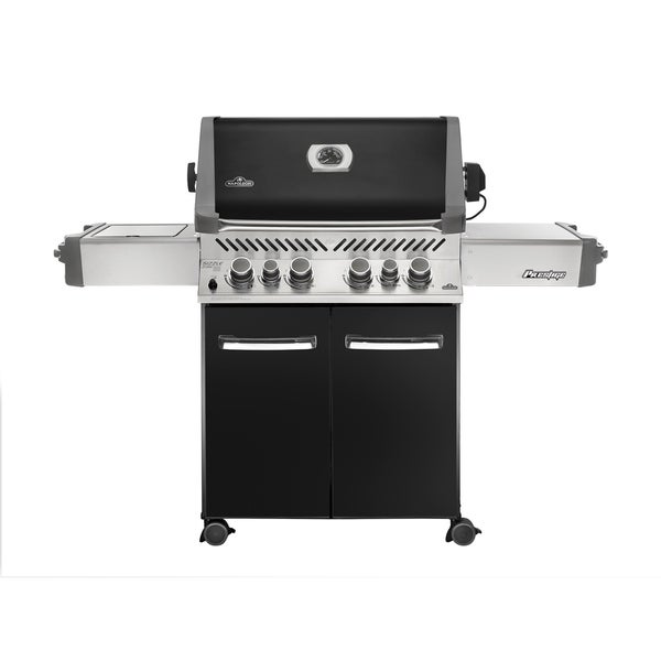 Prestige® 500 with Infrared Side and Rear Burners Propane Gas Grill in Black