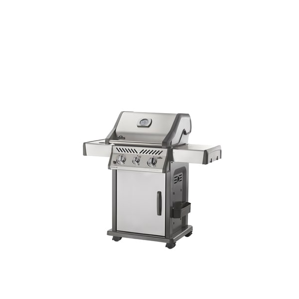 Rogue® 365 Natural Gas Grill with Infrared Side Burner in Stainless Steel