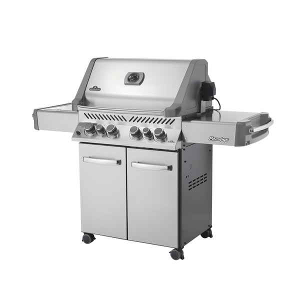 Prestige® 500 Natural Gas Grill with Infrared Side and Rear Burners in Stainless Steel
