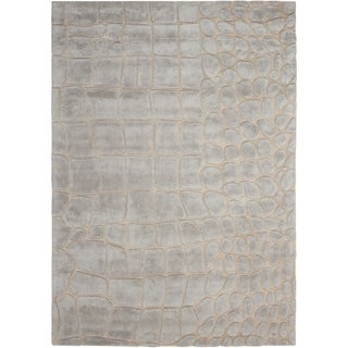 "Calvin Klein Canyon ""Marsh"" Drift Area Rug by Nourison - 5'3"" x 7'5"""