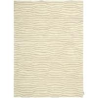 "Calvin Klein Canyon ""Estuary"" Sand Area Rug by Nourison - 5'3"" x 7'5"""