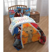 Marvel Guardians of the Galaxy 4 Piece Twin Bed in a Bag