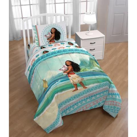 Disney Moana The Wave Reversible Twin Comforter