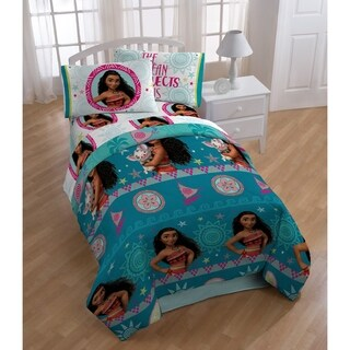 Disney/Pixar Moana Tribal Sun 4 Piece Twin Bed in a Bag
