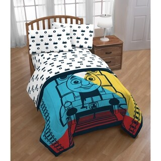 Mattel Thomas The Tank Engine 4 Piece Twin Bed in a Bag