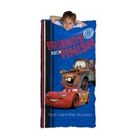 Disney Cars 95 Slumber Bag with Bonus Drawstring Bag