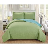 RT Designers Collection Lexington 3-Piece Reversible Quilt Set