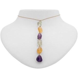 Tara Mesa Gold Fill Multi Gemstone Pendant