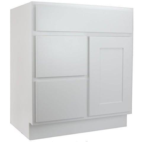 Shop Cabinet Mania White Shaker Kitchen Cabinet Bathroom ...