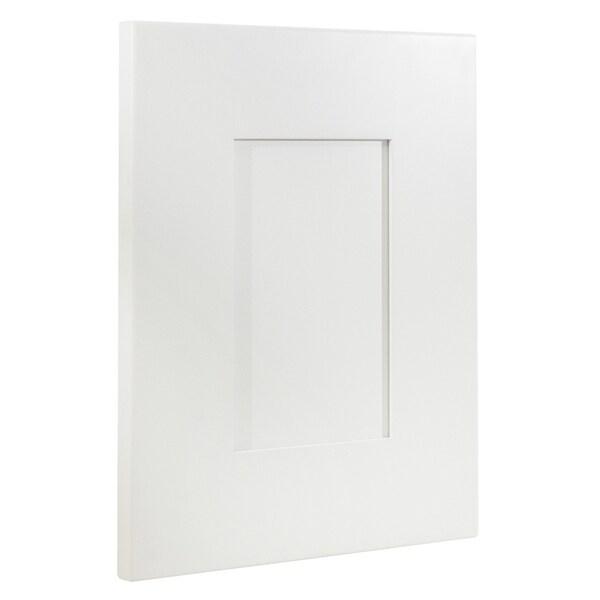 Free Kitchen Cabinet Samples: Shop Cabinet Mania White Shaker Kitchen Cabinet Door
