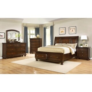 Best Master Furniture Platform 5 Pieces Bedroom Set