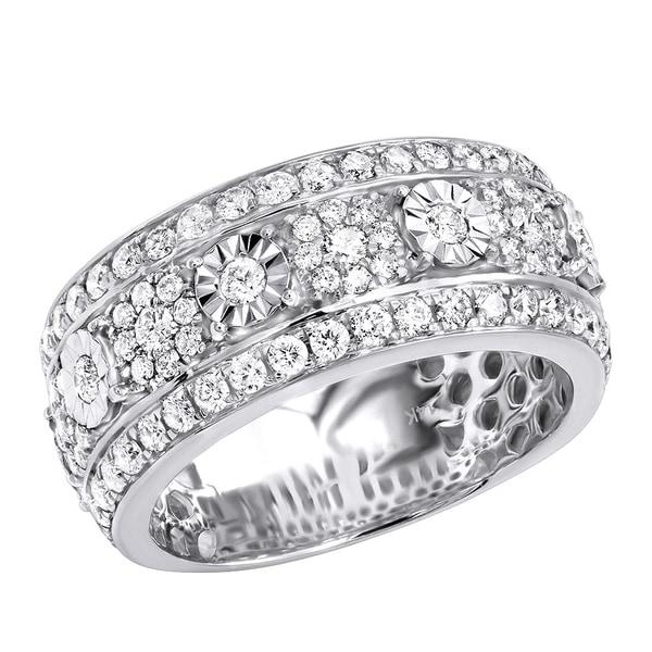 Shop Unique Mens Diamond Wedding Band 14k Gold Anniversary