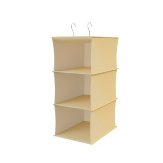 Hanging Closet Organizer-3 Shelf Storage-Space Saving by Lavish Home