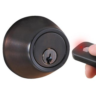 Radio Frequency Remote Control Deadbolt