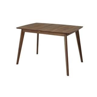 Progressive Arcade Walnut Rubberwood Butterfly Table